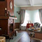 Бежево-серые для классической комнаты