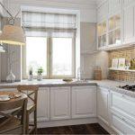 Небольшой кухонный столик в малогабаритной кухне