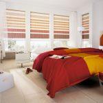 Дизайн простороной спальни в современном стиле