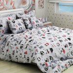 Необычный подростковый комплект постельного белья