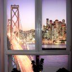 Рулонные шторы с фотопечатью автомобильного моста
