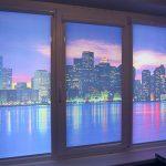 Красивые шторы рулонного типа