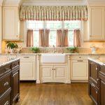 Профильный карниз для кухонного окна