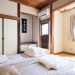 Простая спальня в японском стиле - просто и со вкусом