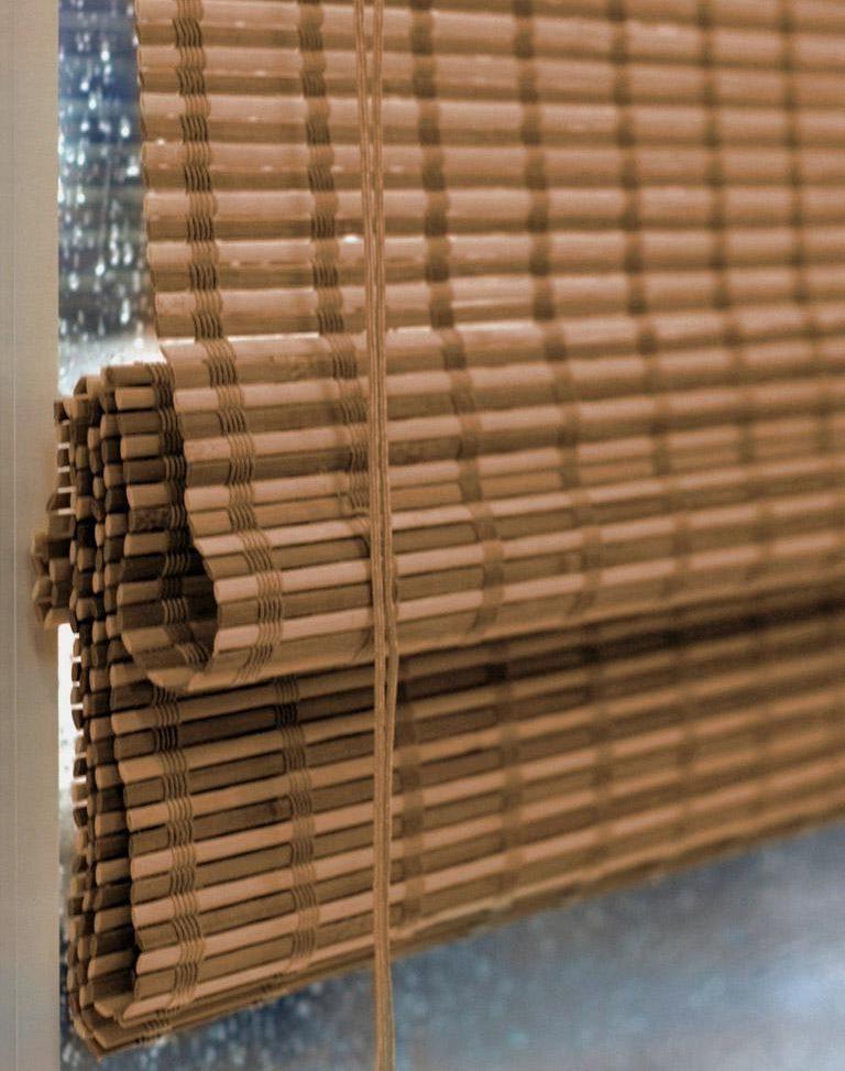 Бамбуковая штора римского типа от компании Эскар