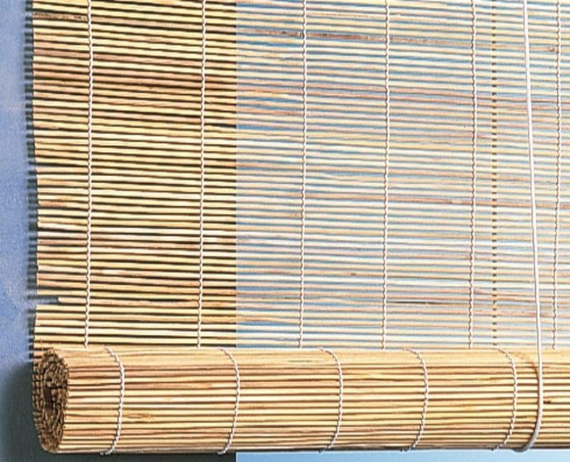 Бамбуковая штора рулонного типа от компании Эскар