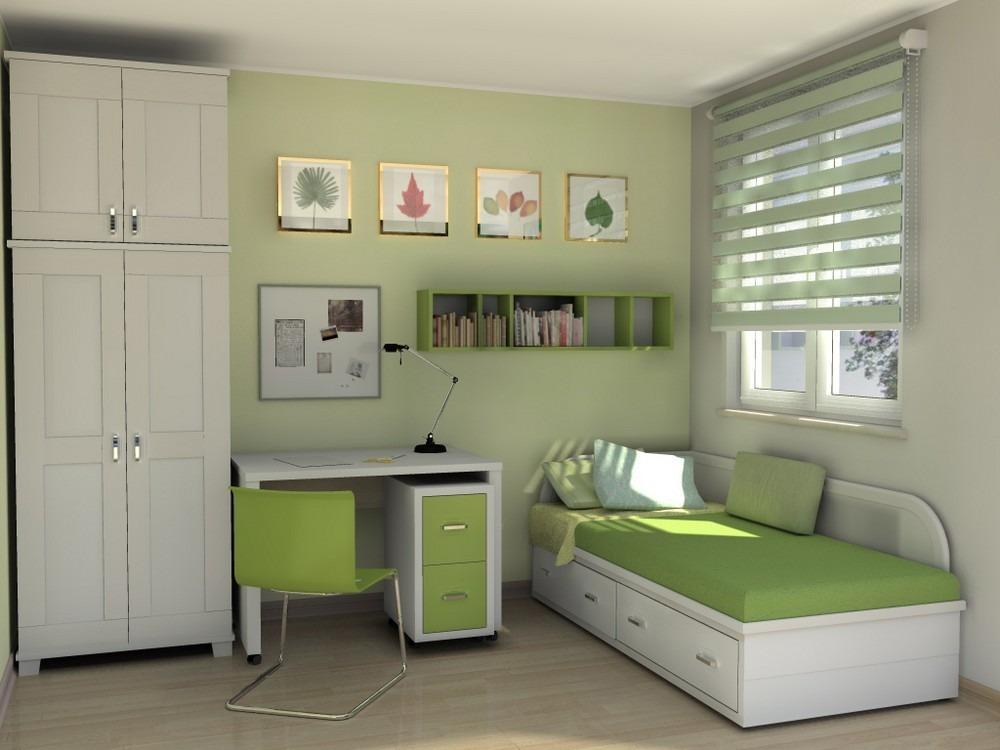 Дизайн детской комнаты с рулонными шторами день-ночь