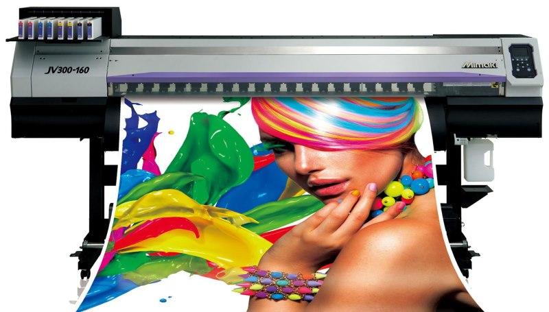 Фотопечать рулонной шторы на струйном принтере