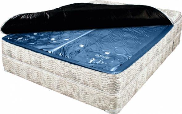 Жесткость водяного матраса в зависимости от веса спящего