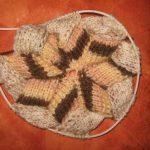 Вязание из разных цветов