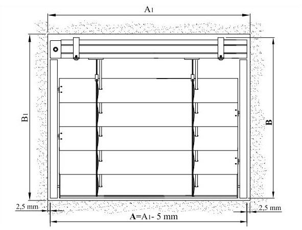 Замер окна для установки рафшторы кассетного типа