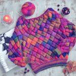 Завершение вязания свитера