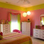 Зеленый и розовый прекрасно дополняют друг друга