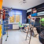 Оформление детской комнаты в космической тематике