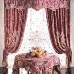 Гардины и портьеры с выбитым рисунком для классического стиля
