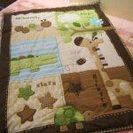 Красивое тактильное одеяло подойдет для мальчика и для девочки