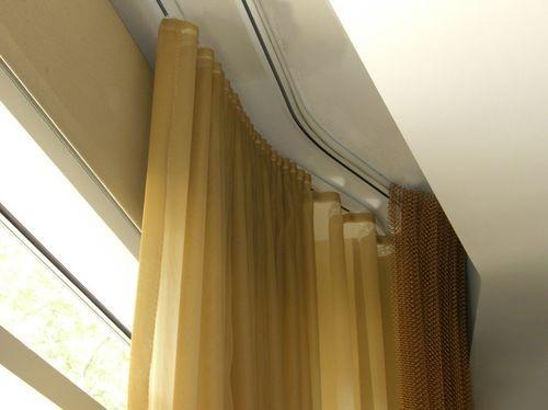Ниша под карниз в натяжном потолке