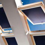 Поворотные окна с рулонными шторами