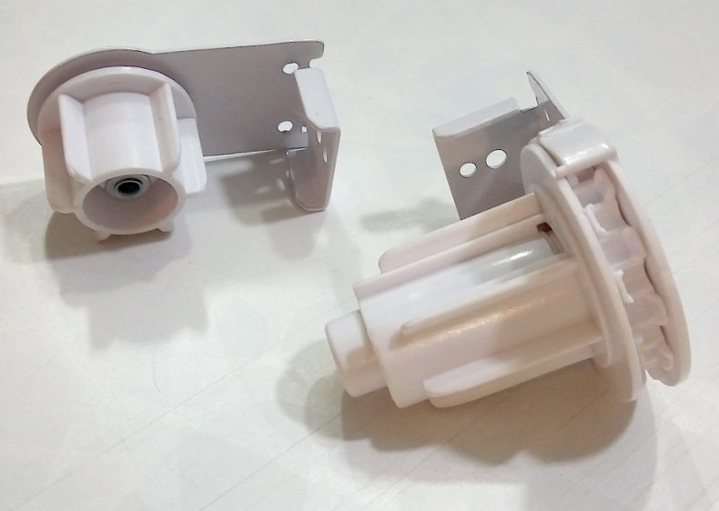 Пластиковый механизм для рулонной шторы