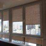 Кассетные рулонные шторы без направляющих