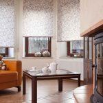 Дизайн гостиной с настоящим камином