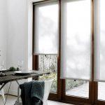 Полупрозрачные шторы из светлого материала