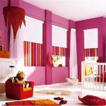 Дизайн детской комнаты с роллетами