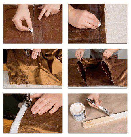 Схема раскроя ткани