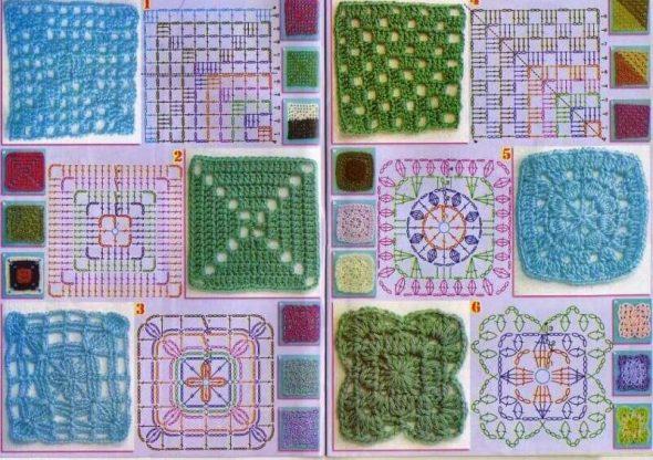 Схемы квадратов