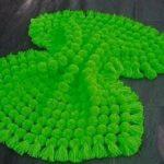 Сочный зеленый плед для малыша