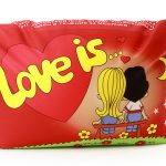 "Антистрессовая подушка для влюбленных ""Love is..."""