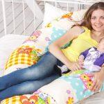 Большая подушка для беременных и кормящих мамочек