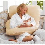 Большая подушка для удобных кормлений