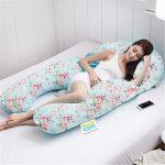 Цветочная подушка для беременных - анатомический вариант