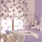 Декоративные подушки для спальни в молочно-сиреневом цвете