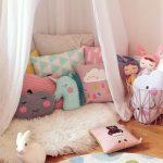 Детские подушки разной формы для игр