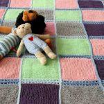 Детский плед из свитеров - креативный вариант