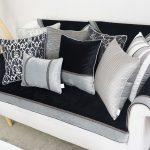Диванные подушки - классический вариант
