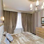 Интерьер спальной комнаты в классическом стиле