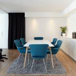 Дизайн кухни-столовой в стиле минимализма