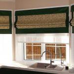 Кухонная мойка в эркере частного дома