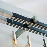 Подвешивание штор на специальных зажимах