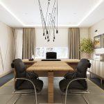 Дизайн рабочего кабинета в современном стиле