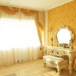 Трюмо в спальне классического стиля