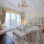 Шикарная спальня в стиле классики