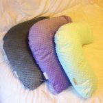 Г-образные плюшевые подушки для кормления