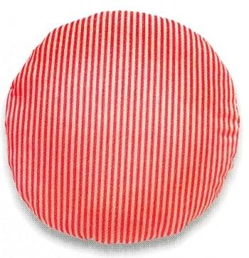 Готовая круглая подушка