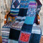 Интересное и необычное сочетание - одеяло своими руками