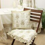 Комплект подушек для стульев в столовую