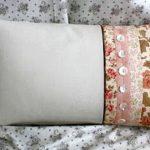 Красивая прямоугольная подушка своими руками